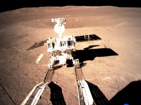 Chang'e-4 libera robô Yutu-2 no lado oculto da Lua