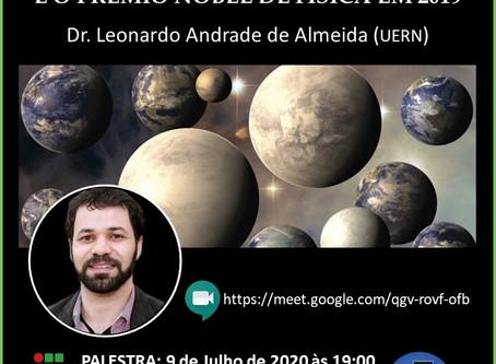 Palestra A Busca por Novas Terras, com Dr. Leonardo Almeida