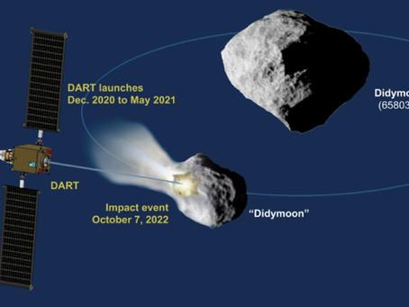 DART: missão para impacto no asteroide Didymos