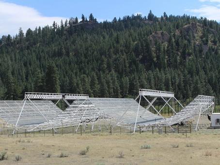 CHIME, radiotelescópio no Canadá