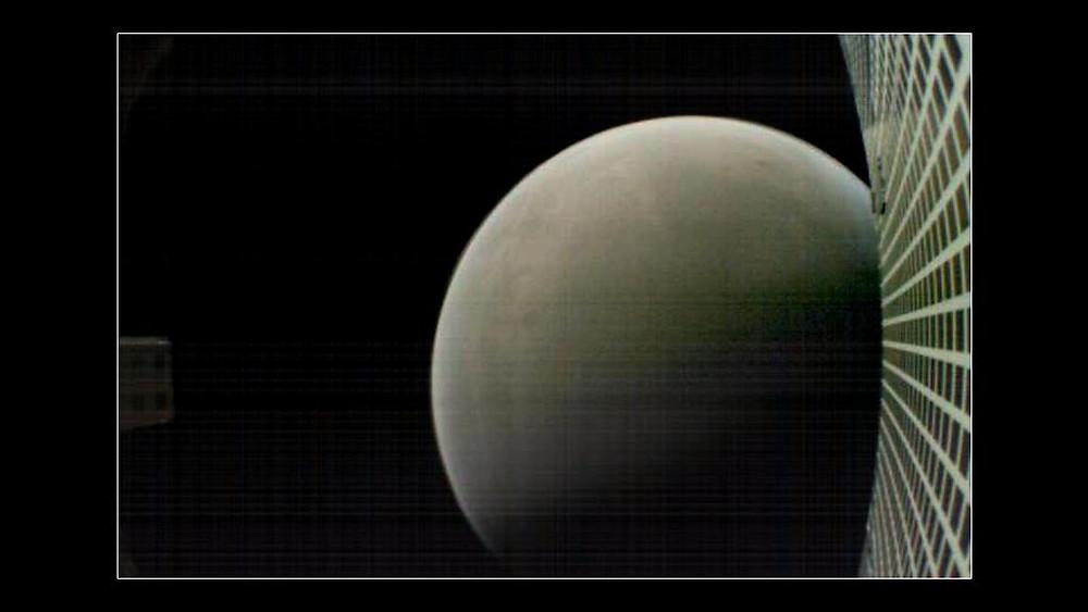 MarCO B envia foto de Marte