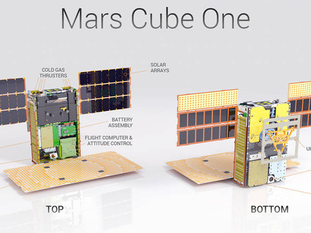MarCO primeiros CubeSats no espaço profundo
