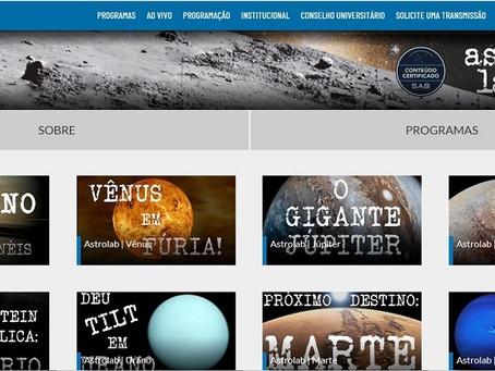 Canal de Astronomia na TV Unesp