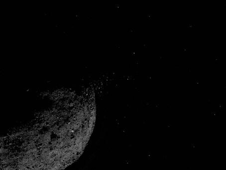 Asteroide Bennu lança partículas ao Espaço