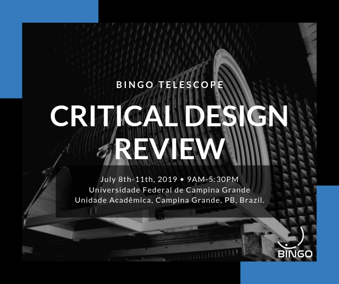 Critical Design Review BINGO Telescope