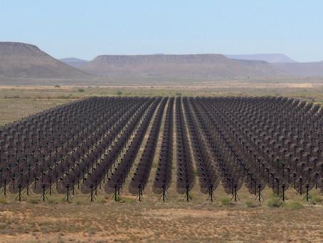 Lançamento do radiotelescópio HIRAX, na África do Sul