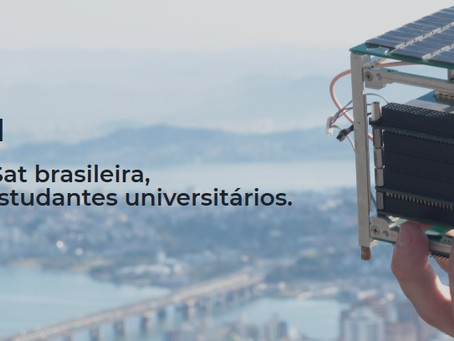 CubeSat FloripaSat-1, da UFSC, está em operação