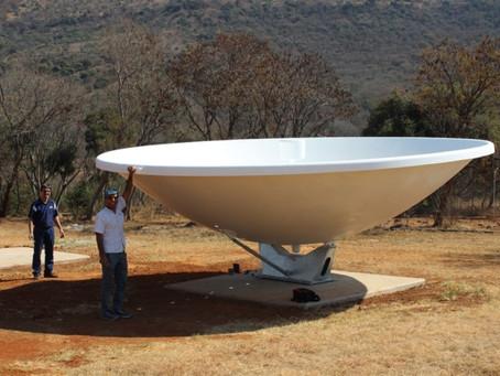 Radiotelescópio HIRAX na África do Sul