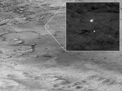 Incríveis imagens da Perseverance em Marte