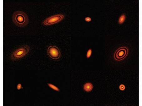 Radiotelescópio ALMA no estudo da formação de planetas