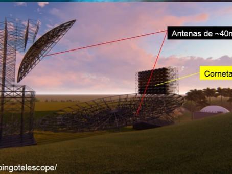 Palestra sobre o radiotelescópio BINGO no Mamutes na Ciência