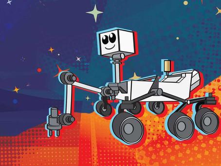 Escolha o nome do próximo robô da NASA que vai a Marte