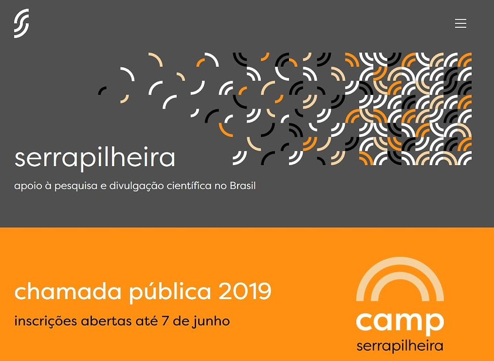 Chamada pública do Instituto Serrapilheira - 2019