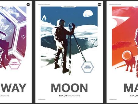 A NASA voltando para a Lua