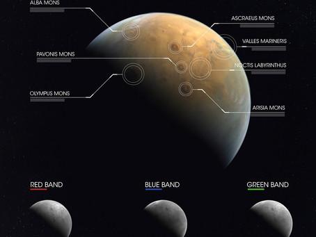 Perseverance, Ingenuity, Tianwen-1 e HOPE chegam a Marte em 2021