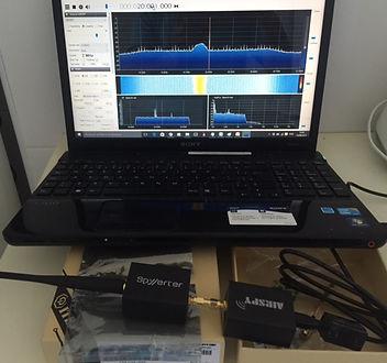 Teste de receptor tipo SDR
