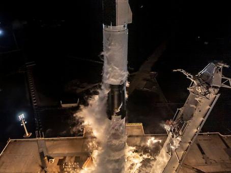 SpaceX testa com sucesso a Crew Dragon