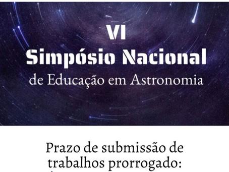 VI Simpósio Nacional de Educação em Astronomia - VI SNEA