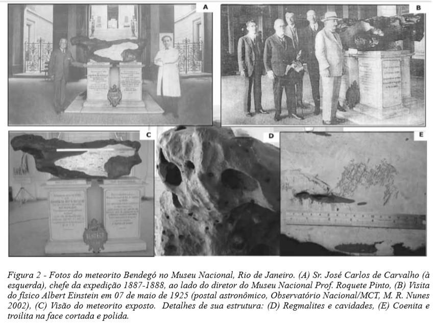 Artigo sobre o meteorito Bendegó