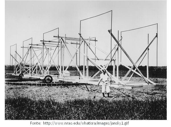Jansky e a antena tipo carrossel