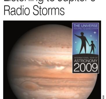Sugestão de leitura: Listening to Jupiter's Radio Storms, de W D Reeve