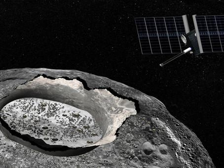 Asteroide metálico pode ter água na sua superfície