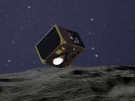 Sonda alemã MASCOT pousa no asteroide Ryugu
