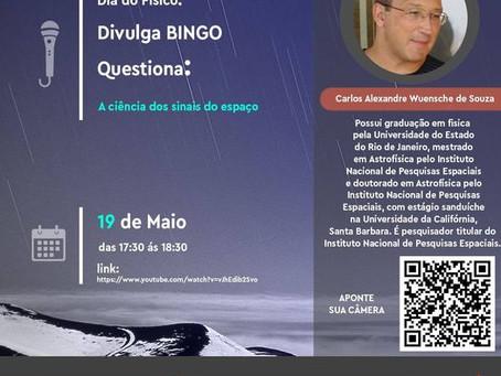 BINGO Questiona, da UNIFEI: A Ciência dos Sinais do Espaço