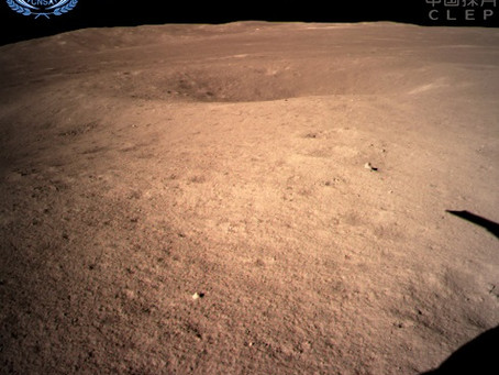 Chang'e 4, da China, pousa no lado oculto da Lua
