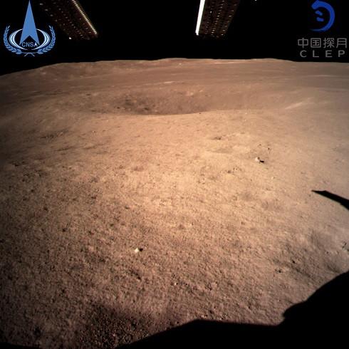 Imagem do lado oculto da Lua
