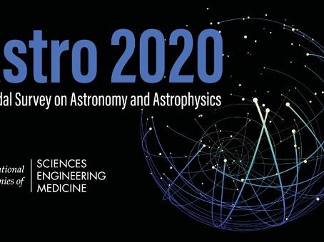 Sugestão de leitura: Astro2020 Decadal Survey: Science White Papers