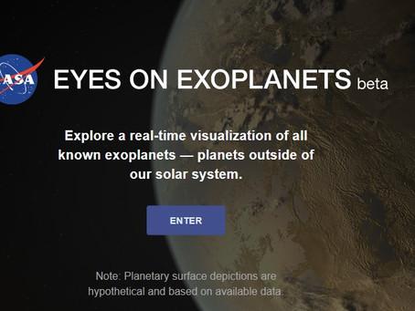 De olho nos exoplanetas já descobertos