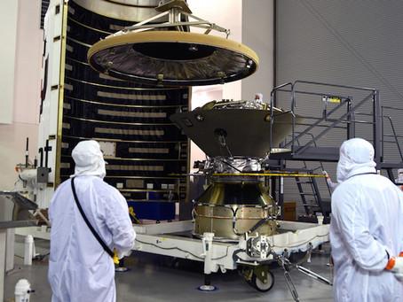 InSight: preparação do lançamento a Marte