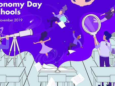 Sugestão de evento: Astronomy Day in Schools da IAU
