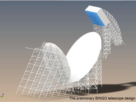 BINGO: radiotelescópio com participação do Brasil