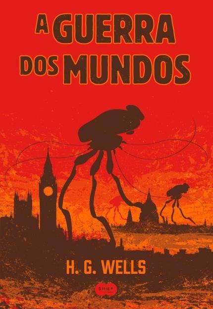 Capa do livro A Guerra dos Mundos da Editora SUMA