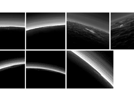 Nuvens em Plutão?