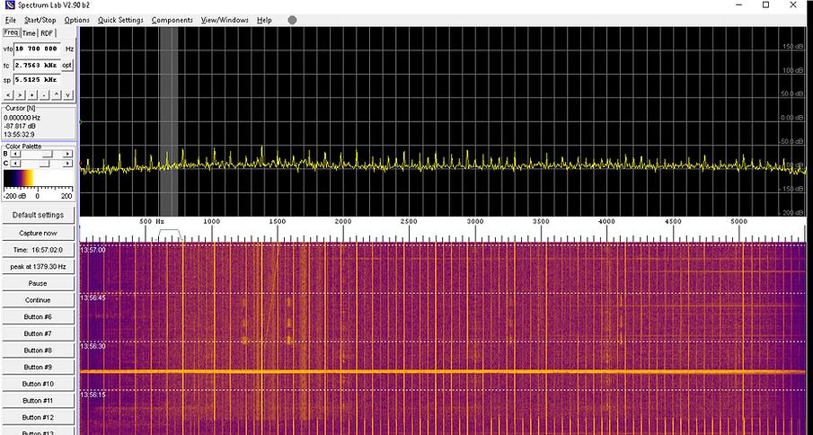 Espectro de Sferic VLF