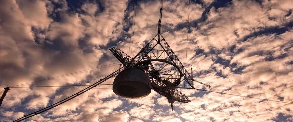 Plataforma de antenas em arecibo