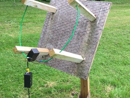 Teste de antena Loop para o Radio Jove
