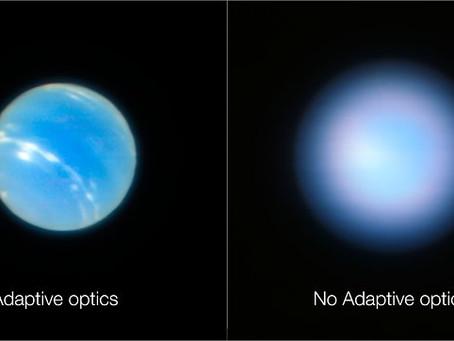 Very Large Telescope (VLT): Netuno mais nítido
