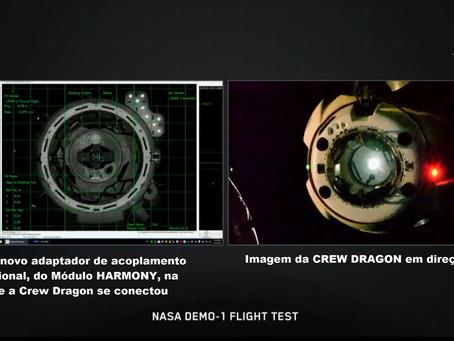 Demo-1 Mission: Crew Dragon na Estação Espacial (ISS)