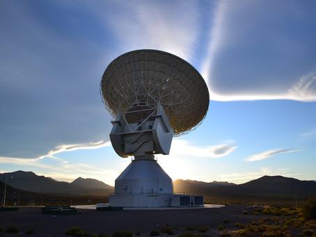 Malargüe: antena de 35 m na Argentina
