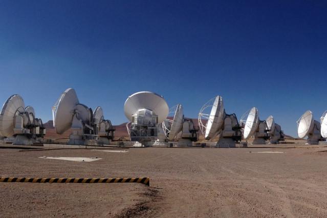ALMA Radio Telescope