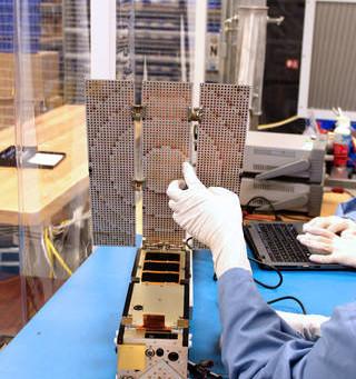 Missão ISARA: Cubesats a 100 Mbps