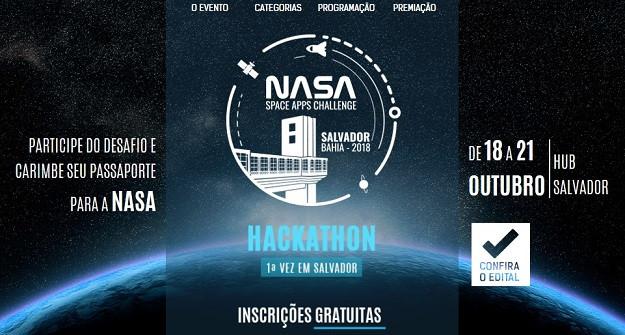 Hackathon NASA - Salvador - 2018