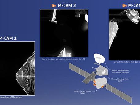 Primeiras imagens do Espaço da BepiColombo