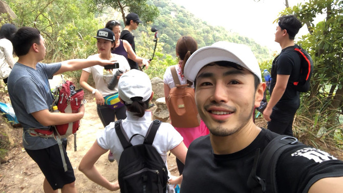 The previous hiking event was a success!