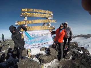 Phil'Express gravit le Kilimandjaro !