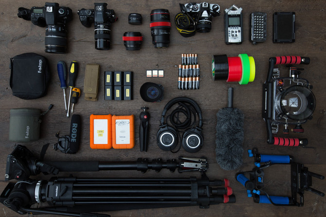 FILMMAKING TRIP TIPS: THE ART OF PRODUCTION BOTH IN A VAN AND IN THE AIR